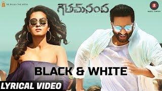 Black & White - Lyrical Video | Goutham Nanda | Gopichand | Divya Kumar