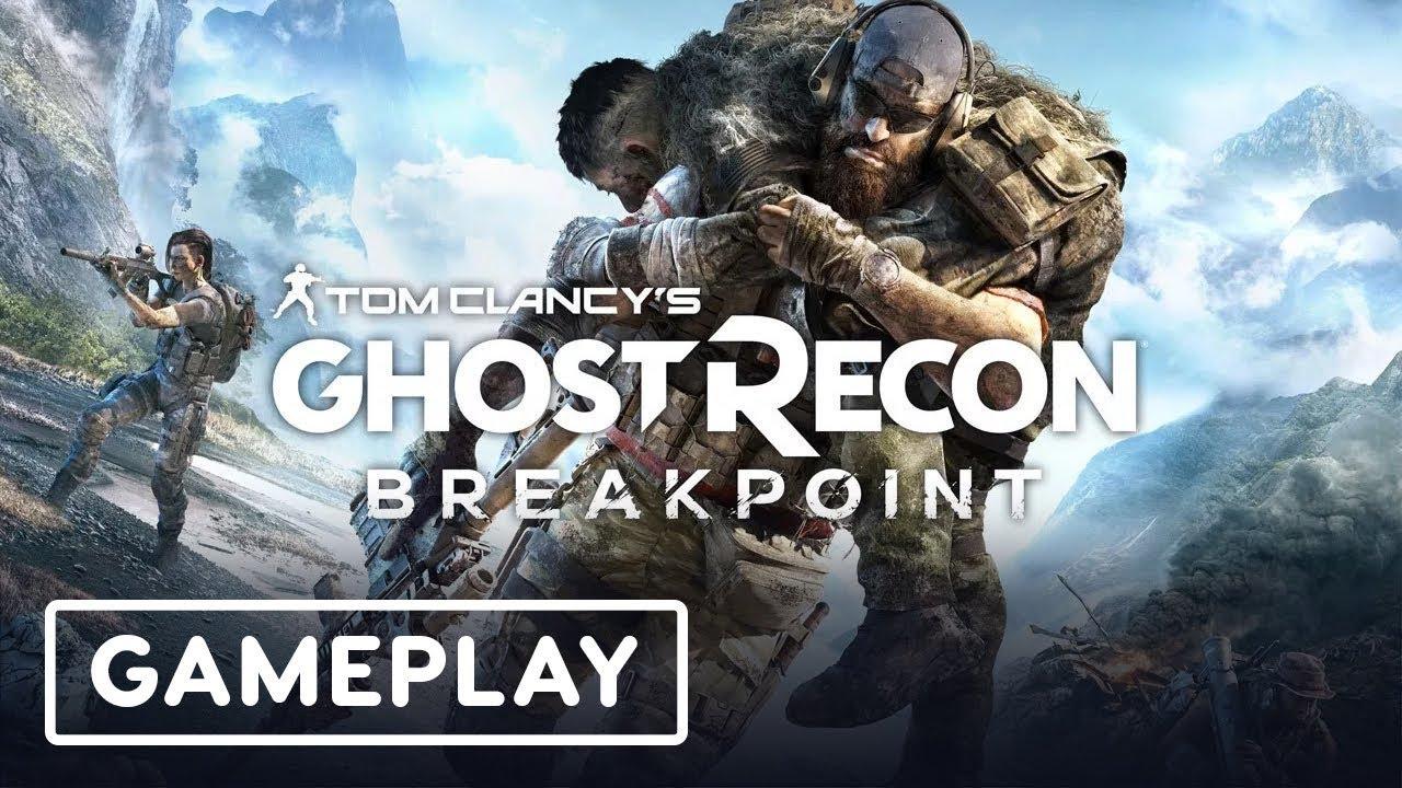 Ghost Recon Breakpoint Gameplay - Einen Roboterpanzer ausschalten - E3 2019 + video