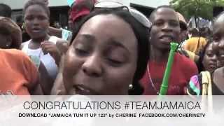 Bolt , Blake & Weir  win 1,2,3 in Men 200m London Olympic 2012 : Jamaican Tribute