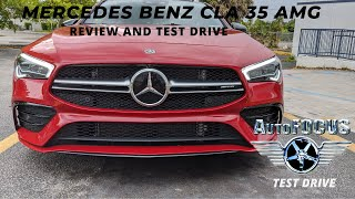 AMAZING PERFORMANCE:  The Thrilling Mercedes Benz CLA 35 AMG