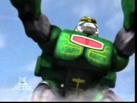Power Rangers Wild Force - Green Gorilla Zord