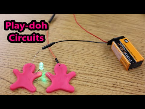 Play Doh Circuits For Kids
