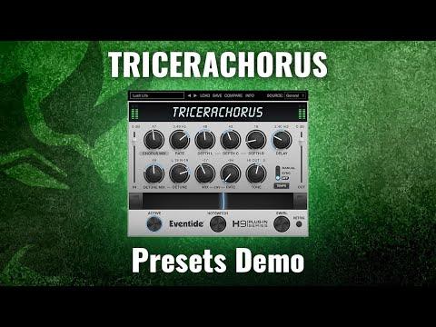 Introducing New Eventide TriceraChorus Plug-in: Presets Demo