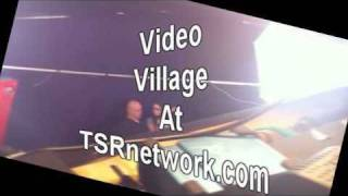 Rev Mel up in Video Village on the set of Planet Porn