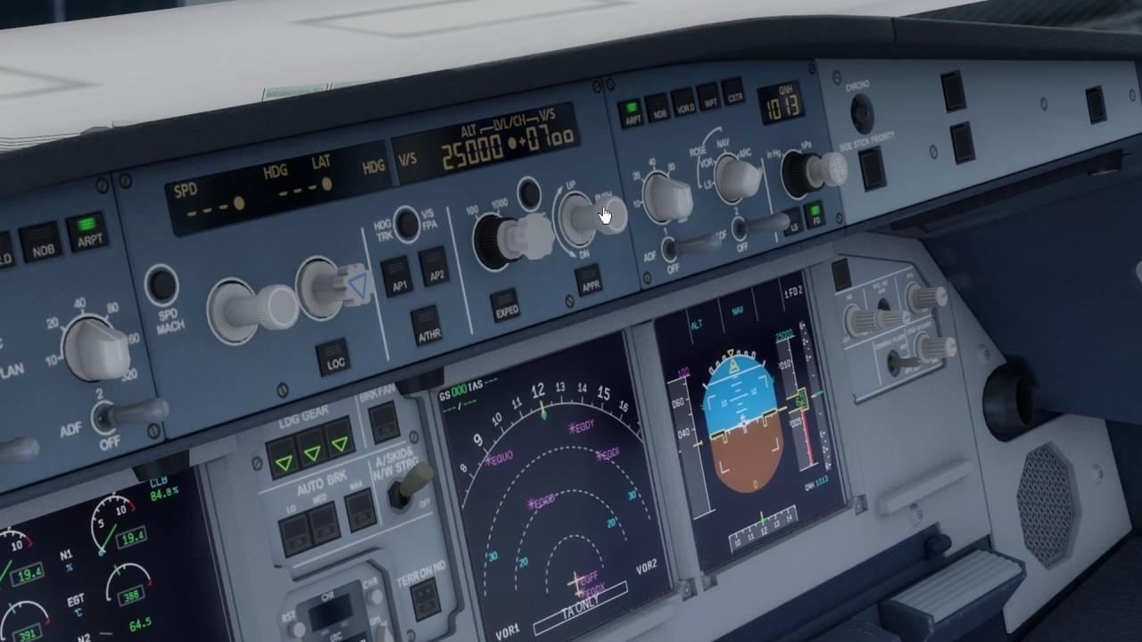 FSX/P3D | Aerosoft A320 system overview | Lesson 1: FCU