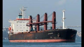 Bulk carrier FATMA SARI Ship floating on the Black sea
