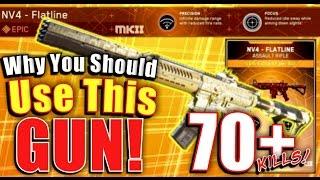 NV4 FLATLINE 70+ KILLS! It Is Even Better Now! Epic Weapons Of Infinite Warfare