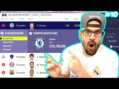 OMG RIP ANOTHER STAR!! *SOLD $100,000,000* - FIFA 18 Career Mode Real Madrid #10