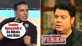 Akshay Kumar FIRED Sajid Khan from Housefull 4   #Metoo Movement