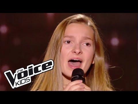 Les yeux de la mama- Kendji Girac | Noée | The Voice Kids France 2017 | Blind Audition