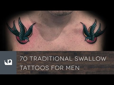 70 Traditional Swallow Tattoos For Men