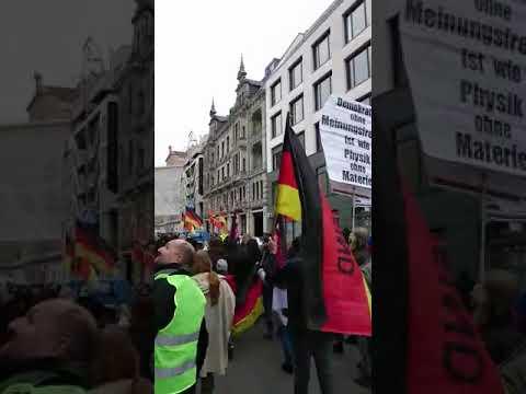 MARSCH DER FRAUEN IN BERLIN am 17.02.2018