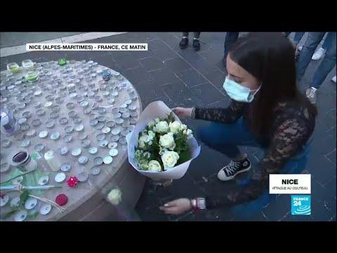 Attentat de Nice : l'émotion des habitants après l'attaque au couteau
