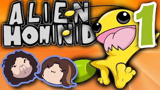Alien Hominid: E for Everybody! - PART 1 - Game Grumps