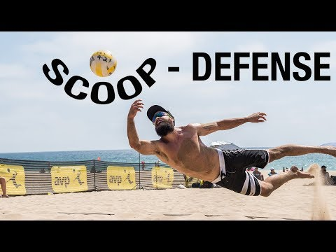 How To Dig A Volleyball: Scoop Defense