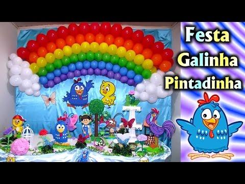 Party Decoration Theme Lottie Dottie Chicken - Children's Birthday - Fiesta / Party Kids / Ideas