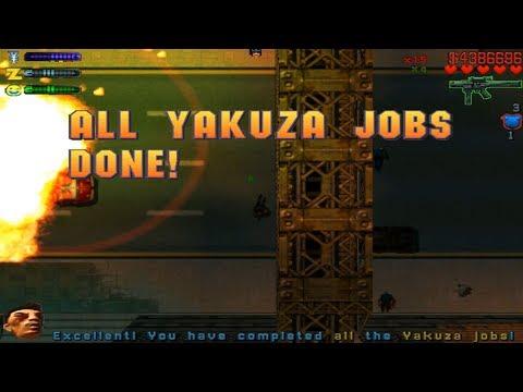 GTA2 - Downtown District - All Yakuza Missions