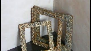 Dollhouse Miniature Antique Frame