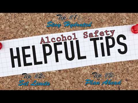 Alcohol Safety Tips