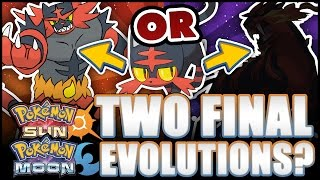 Pokémon Sun and Moon - Starters have TWO final evolutions?