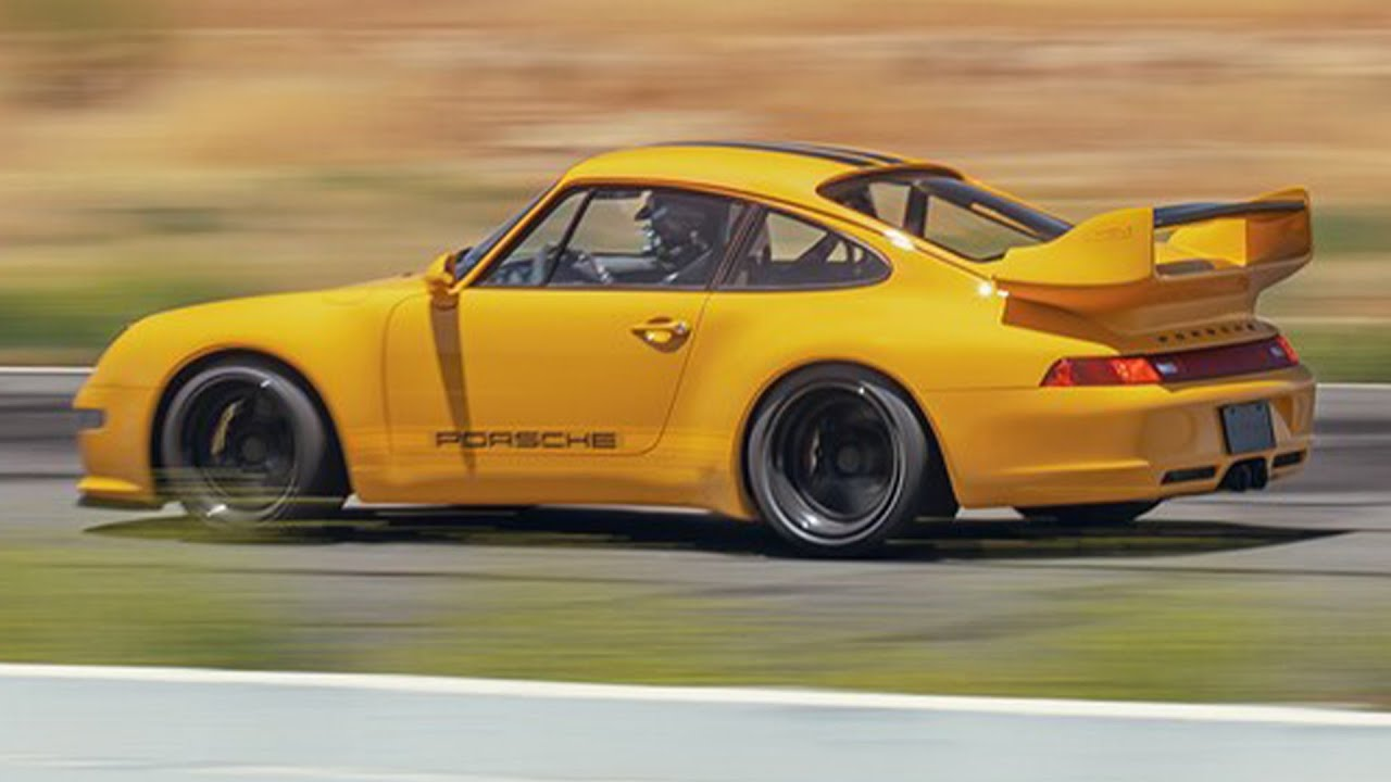 Gunther Werks' 993: A Legend Remastered | Driven by Randy Pobst @ Willow Springs | MotorTrend