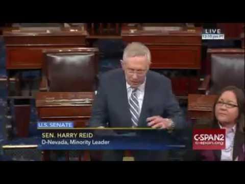 Senator Reid, Standing Rock