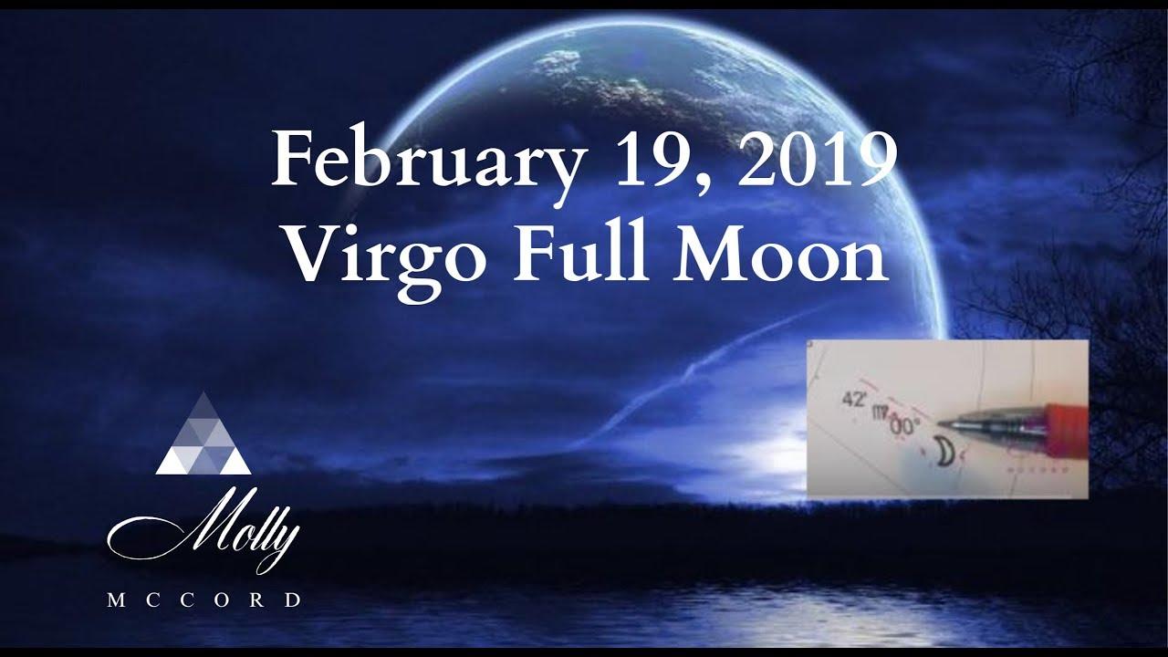 February 19 Virgo ♍ Full Moon - Spiritual Downloads, Physical Integrations