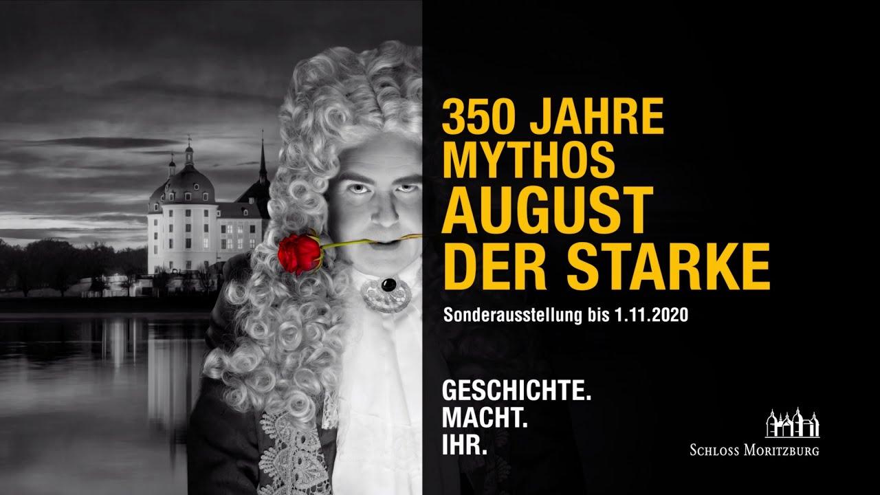 350 Jahre Mythos August der Starke | Sonderausstellung Schloss Moritzburg | Schlösserland Sachsen