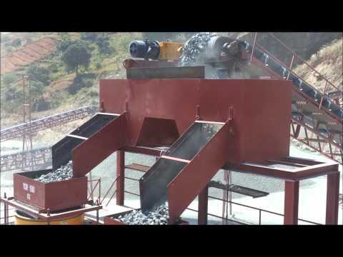 YONG WON CRUSHER 500t/h crushing plant in Indonesia