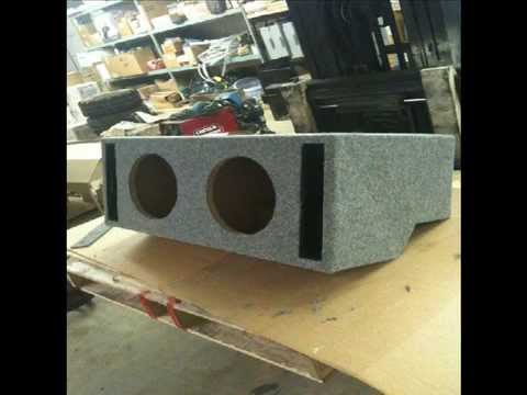 Ported Subwoofer Box For A 1984 Cutlass System Build Pt