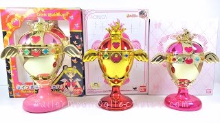 Sailor Moon Rainbow Moon Chalice Proplica Review Comparison 2016
