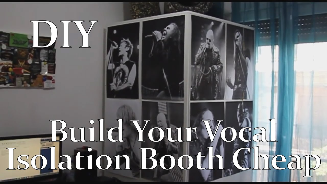 Diy build your vocal isolation booth cheap youtube youtube premium solutioingenieria Choice Image