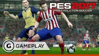 FC Barcelona vs. Club Atletico de Madrid Gameplay - Pro Evolution Soccer 2017