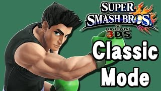 Super Smash Bros. For 3DS (Classic Mode | Little Mac)