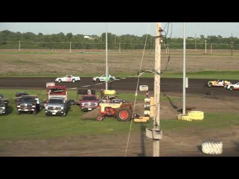 IMCA Stock Car Heat 1 Benton County Speedway 6/2/19