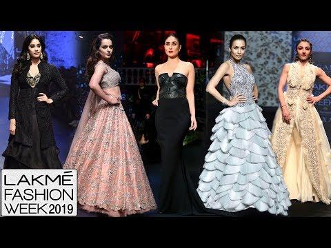 LFW 2019 : Kangana, Kareena, Janhvi, Malaika Arjun, Ranveer, Soha | Full SHOW