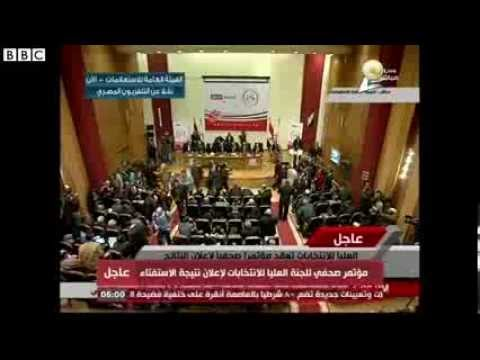 "Egypt Referendum: ""98% Back New Constitution"""