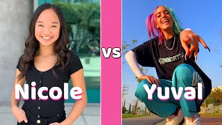 Nicole Laeno Vs Yuval Biton Tiktok Battle MP3
