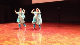 Semi classical dance by Deepali & Tanmayi @ John Deere LOTUS event