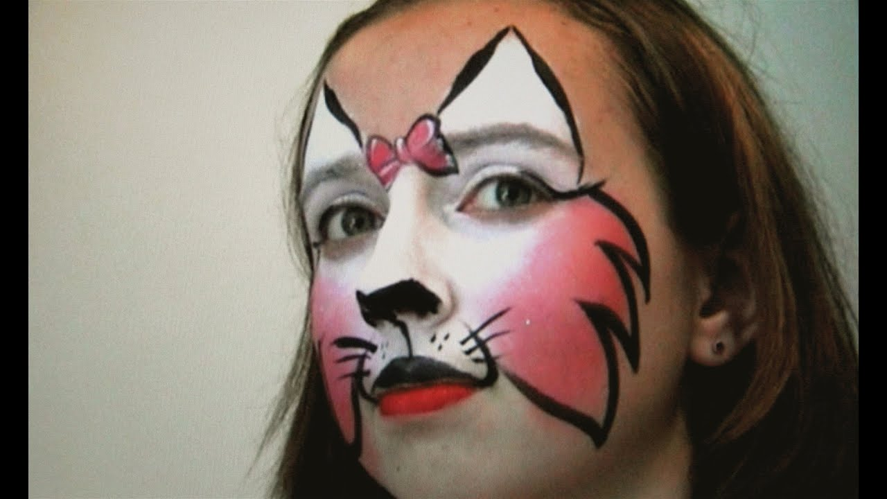Face Painting Cat Tutorial