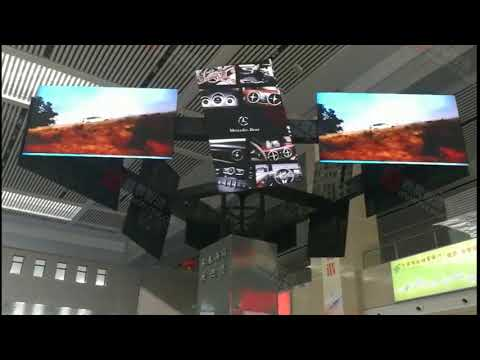 "115"" Rotating screen in Changchun"