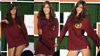 Disha Patani's SEXY Dance Moves In SHORTS At Wellness Session
