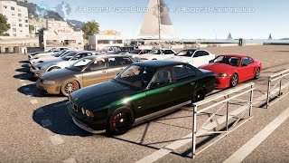 Forza Horizon 2 (XB1) | 750+HP E34 M5 Build | Meet, Drifting, Airstrip Rolls, Digs & More
