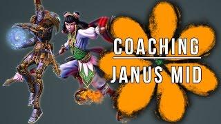 Smite Coaching Janus Mid