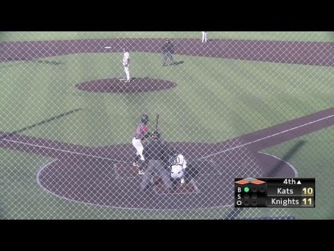 CCBC Essex Knights Baseball vs Erie Community College Kats