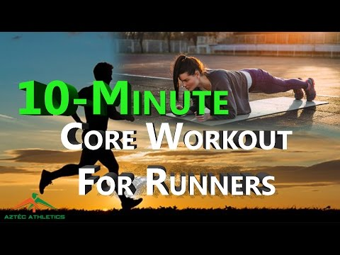 10-MINUTE CORE WORKOUT FOR RUNNERS✔