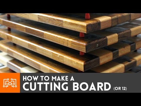 Making cutting boards  // How-To