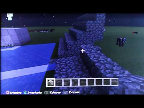 creacion de un estadio en minecraft