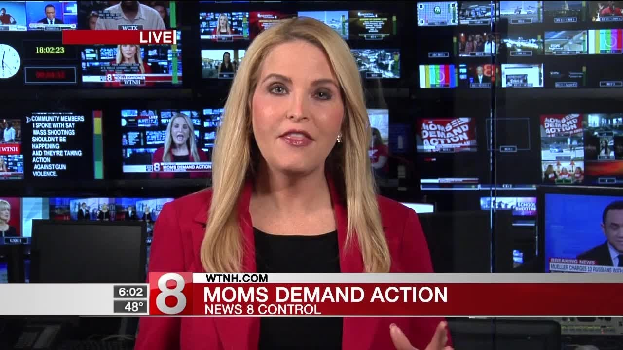 """Connecticut's """"Moms Demand Action"""" group speaks out after Florida shooting - Dauer: 117 Sekunden"""