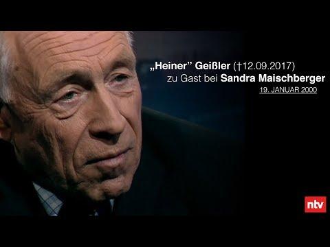 """""""Heiner"""" Geißler zu Gast bei maischberger"""